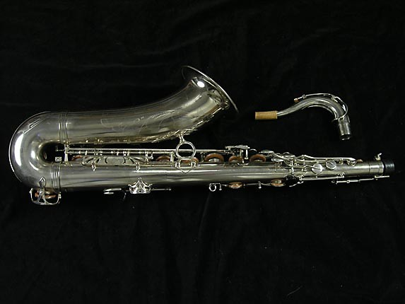 Selmer Nickel Plate Mark VII Tenor - 313016 - Photo # 2