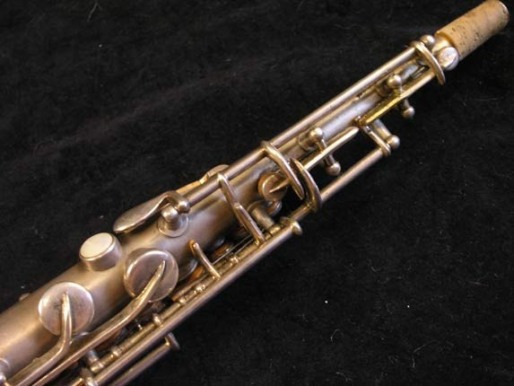 "Conn ""New Wonder"" Silver Plate C Soprano - 84475 - Photo # 9"