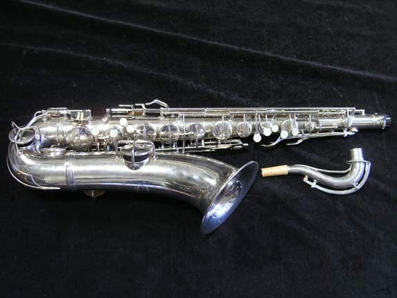 Conn Nickel Plate Transitional Tenor - 247467 - Photo # 1