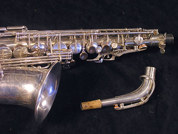 Selmer Silver Plate Balanced Action Alto - 32611 - Photo # 3