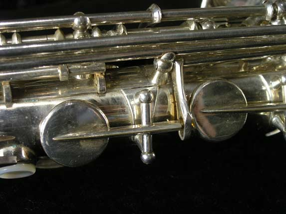 Selmer Silver Plate Mark VI Alto - 76835 - Photo # 10