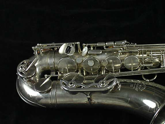 Selmer Nickel Plate Mark VII Tenor - 313016 - Photo # 3