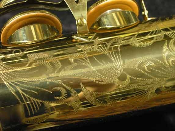 King Lacquer-Sterling Neck Super 20 Tenor - 313306 - Photo # 21