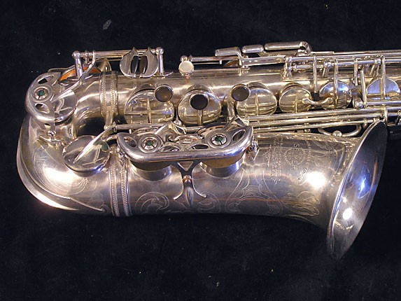 Selmer Silver Plate Balanced Action Alto - 32611 - Photo # 4
