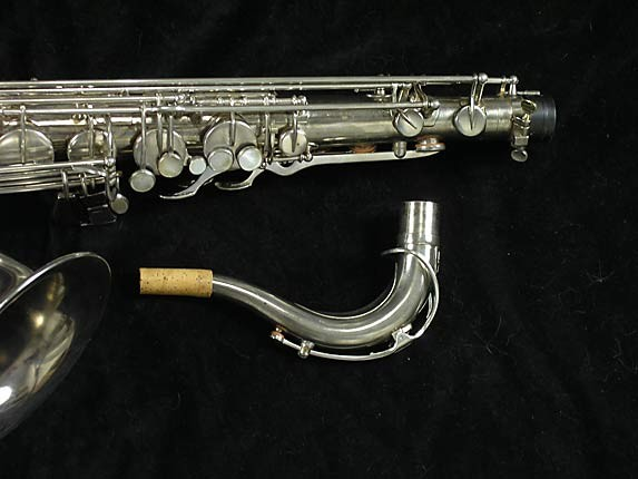 Selmer Nickel Plate Mark VII Tenor - 313016 - Photo # 4