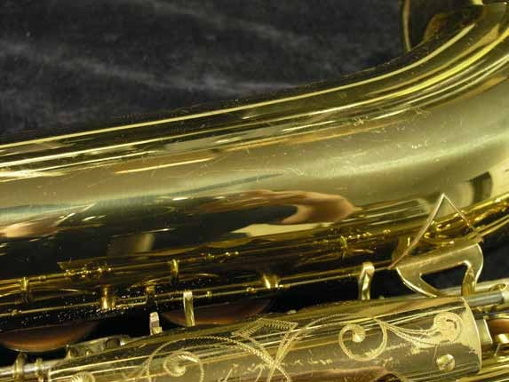 King Lacquer-Sterling Neck Super 20 Tenor - 313306 - Photo # 22
