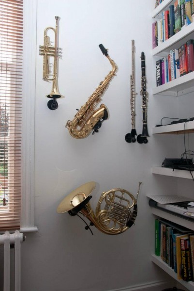 High Quality Great Looking Wallmounts Sax Brass