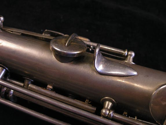 "Conn ""New Wonder"" Silver Plate C Soprano - 84475 - Photo # 11"
