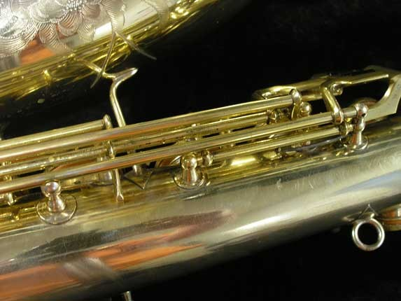 "Conn ""Portrait"" Gold Plate ""Nude Woman"" Tenor - 119399 - Photo # 18"