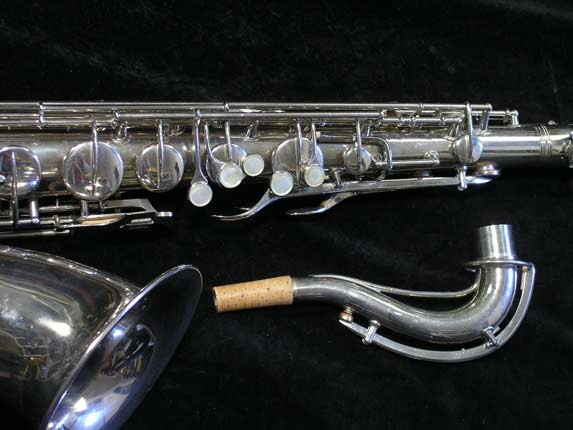 Conn Nickel Plate Transitional Tenor - 247467 - Photo # 3