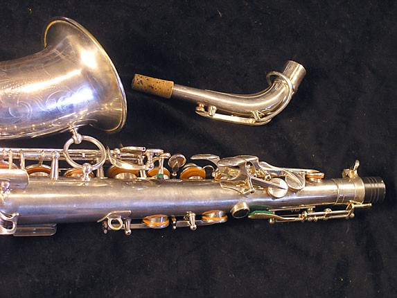 Selmer Silver Plate Balanced Action Alto - 32611 - Photo # 5