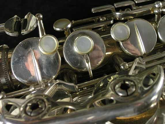 Selmer Silver Plate Mark VI Alto - 76835 - Photo # 12