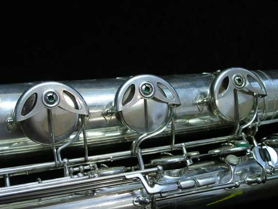 "Selmer Silver Plate Mark VI ""Low A"" Baritone - 138648 - Photo # 22"