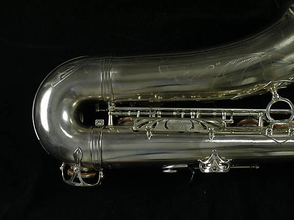 Selmer Nickel Plate Mark VII Tenor - 313016 - Photo # 5