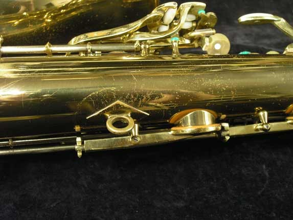 King Lacquer-Sterling Neck Super 20 Tenor - 313306 - Photo # 23
