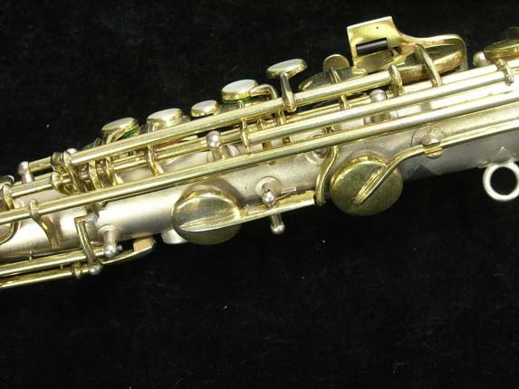 "C.G. Conn Silver w/ Gold Keys ""New Wonder"" Alto - 112642 - Photo # 10"