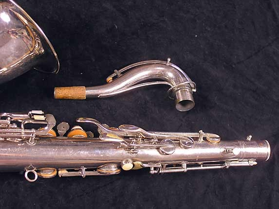 Conn Nickel Plate Chu Berry Tenor - 227703 - Photo # 6