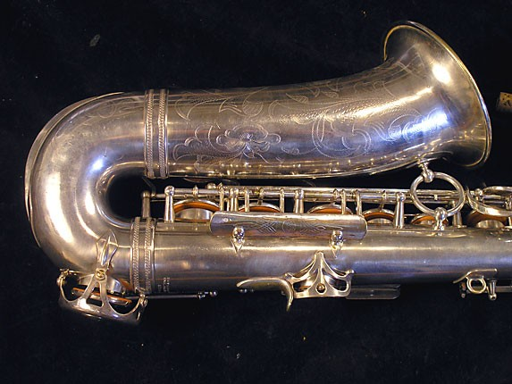 Selmer Silver Plate Balanced Action Alto - 32611 - Photo # 6