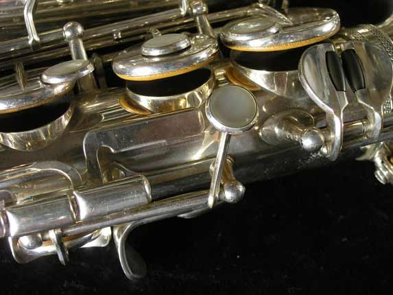Selmer Silver Plate Mark VI Alto - 76835 - Photo # 13