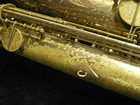 "Selmer Lacquer Mark VI ""Low A"" Baritone - 93188 - Photo # 26"