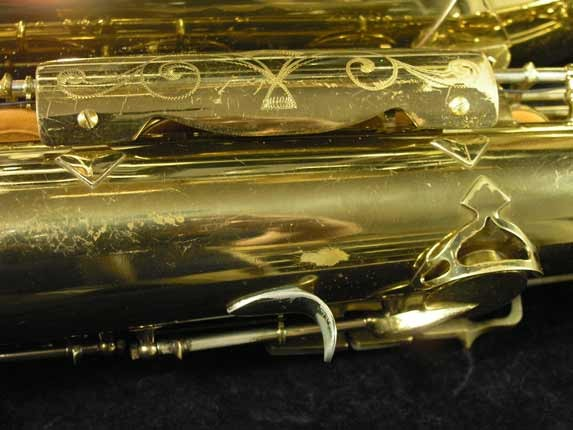 King Lacquer-Sterling Neck Super 20 Tenor - 313306 - Photo # 24