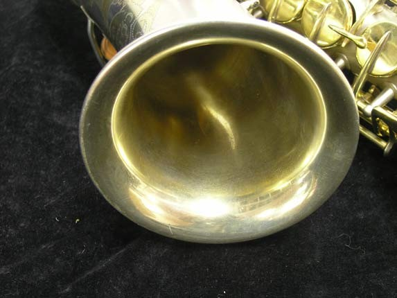 "C.G. Conn Silver w/ Gold Keys ""New Wonder"" Alto - 112642 - Photo # 11"