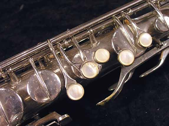 Conn Nickel Plate Chu Berry Tenor - 227703 - Photo # 7
