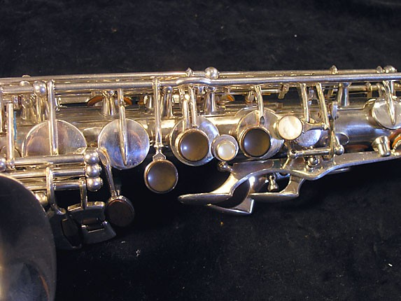 Selmer Silver Plate Balanced Action Alto - 32611 - Photo # 7