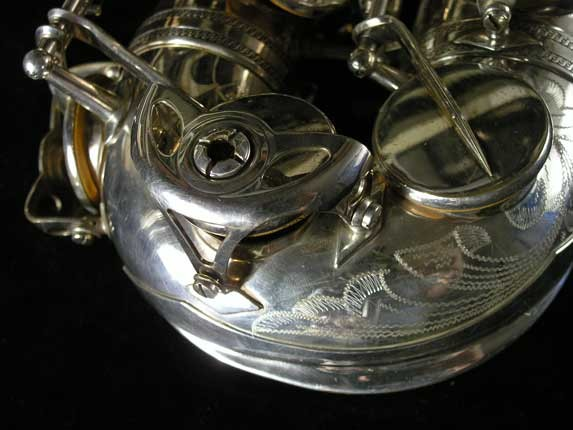 Selmer Silver Plate Mark VI Alto - 76835 - Photo # 14