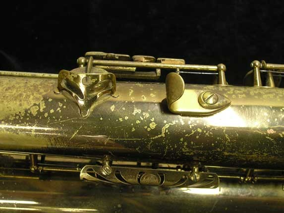 "Selmer Lacquer Mark VI ""Low A"" Baritone - 93188 - Photo # 27"