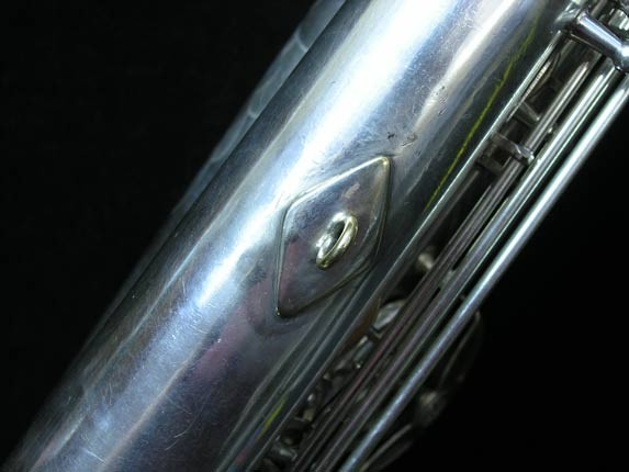 "Selmer Silver Plate Mark VI ""Low A"" Baritone - 138648 - Photo # 24"