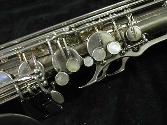 Selmer Nickel Plate Mark VII Tenor - 313016 - Photo # 7