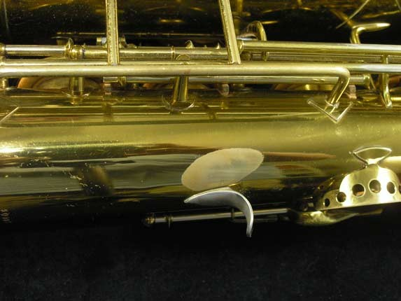 King Lacquer-Sterling Neck Zephyr Tenor - 209917 - Photo # 25