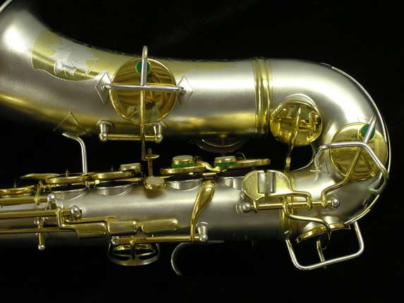 Conn Dual Tone Chu Berry Alto - 212054 - Photo # 3