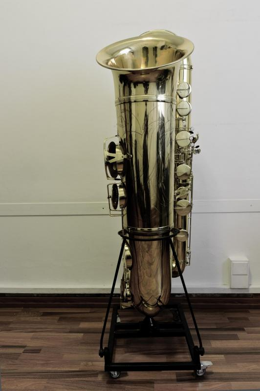 Jelle Stainer Double Bb Sub Contrabass Saxophone Saxophoneorg